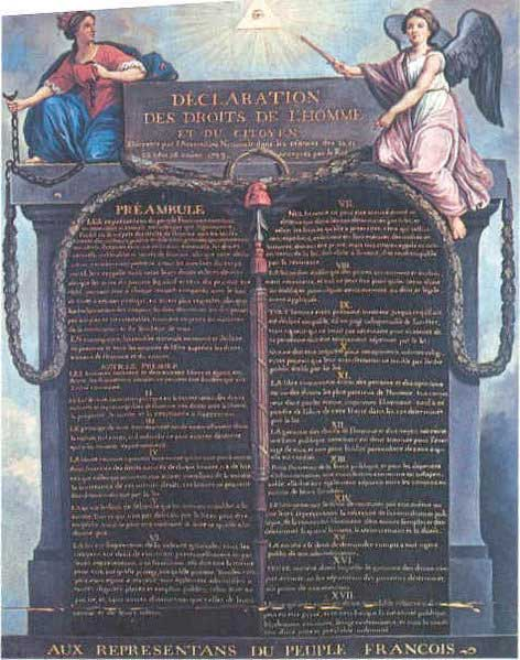 the implementation of the bill of rights in france and the united states While other provisions of the bill of rights, such as the fifth or sixth amendments, establish procedural trial rights which inure to a person who becomes a criminal defendant in united states custody, the fourth amendment's restrictions on search and seizure protect a right of the people as opposed to any person or any accused.