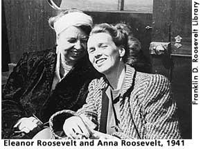 Anna Eleanor Roosevelt Boettiger Halsted 1906 1975