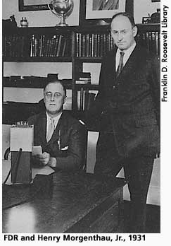 [picture: FDR and Henry Morgenthau, Jr., 1931]