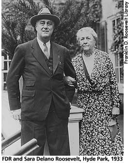 [picture: FDR and Sara Delano Roosevelt, Hyde Park, 1933]
