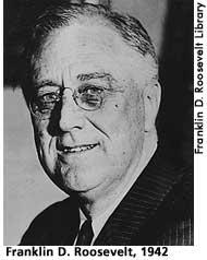 [picture: Franklin D. Roosevelt in 1942]