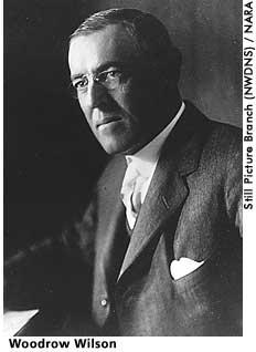 [picture: Woodrow Wilson]