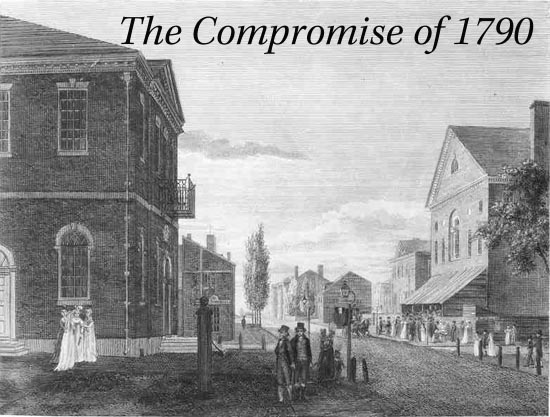 First Federal Congress The Compromise Of 1790
