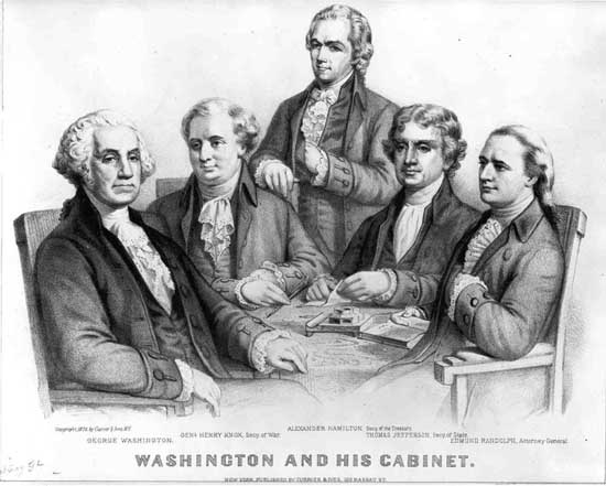 First Federal Congress: Creation of the Executive