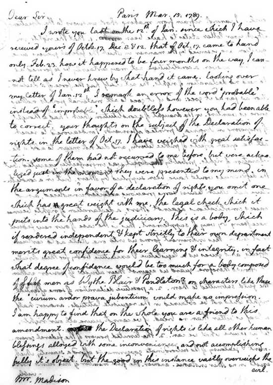 an analysis of the letter for jefferson Rhetorical analysis on benjamin banneker's letter to thomas jefferson benjamin banneker wrote this letter to attempt to make the secretary of state, thomas jefferson, aware of the oppressive and horrifying nature of the slave trade that banneker's ancestors had been in for generations.