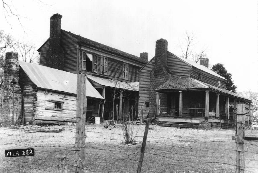 Plantation Kitchen House cultural landscape of plantation--slave tasks