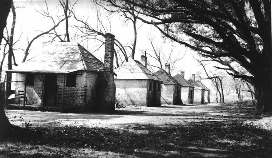 Cultural Landscape of Plantation--THE QUARTERS on red brick southern plantation homes, colonial southern plantation homes, creepy southern plantation homes, small southern plantation homes,