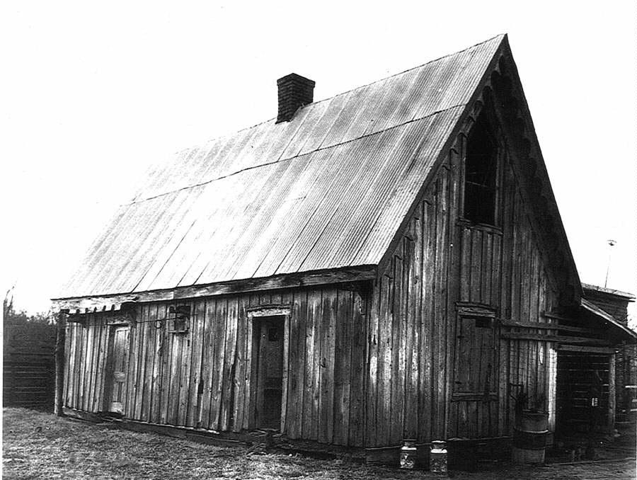 Front Elevation In House : Cultural landscape of plantation the quarters
