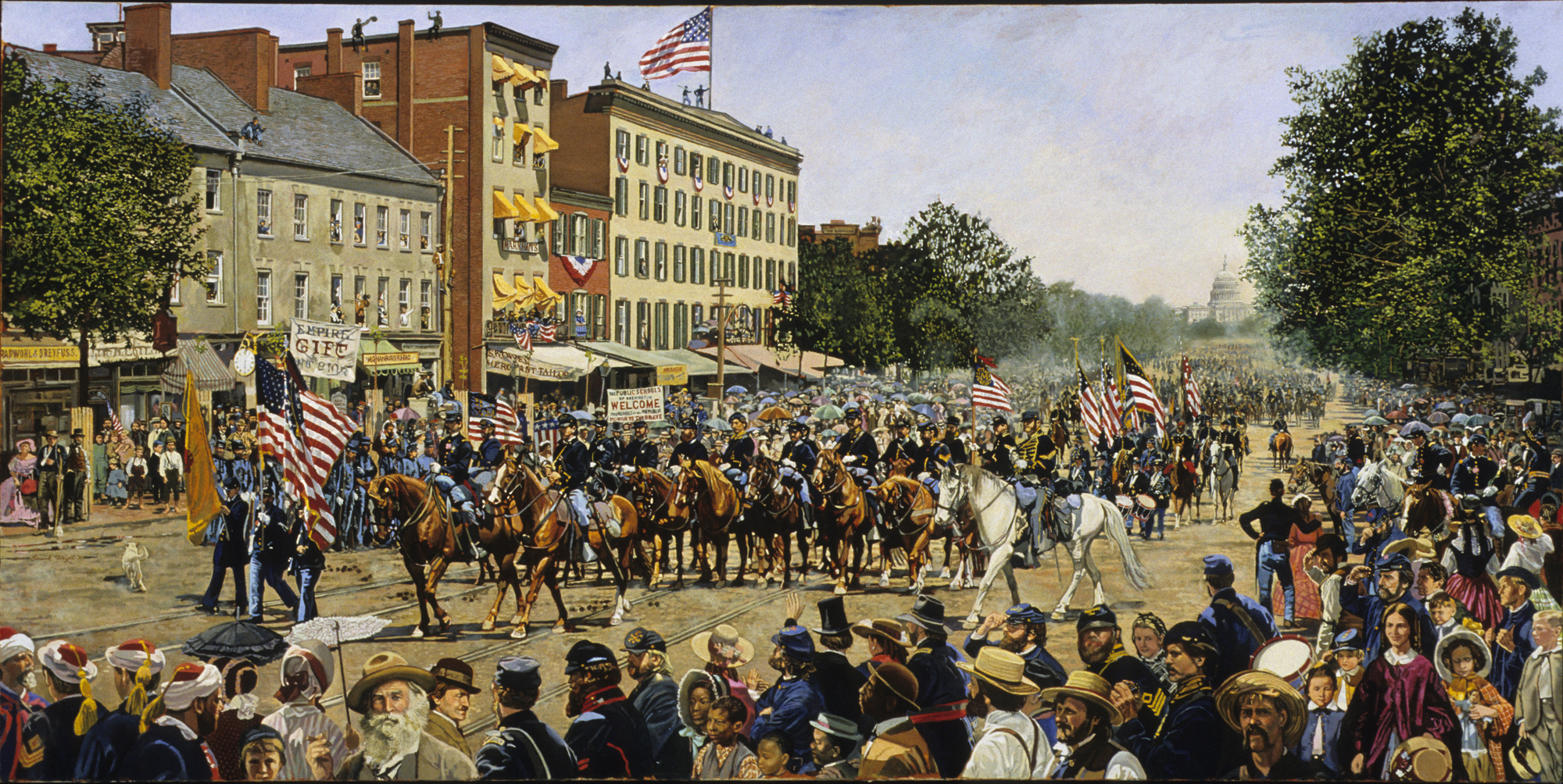 Image result for civil war victory parade