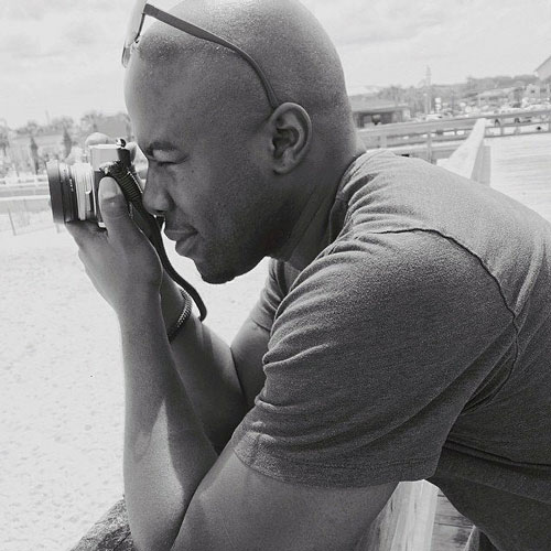 A GW student photographer